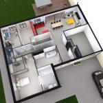 conception 3D maison PMR